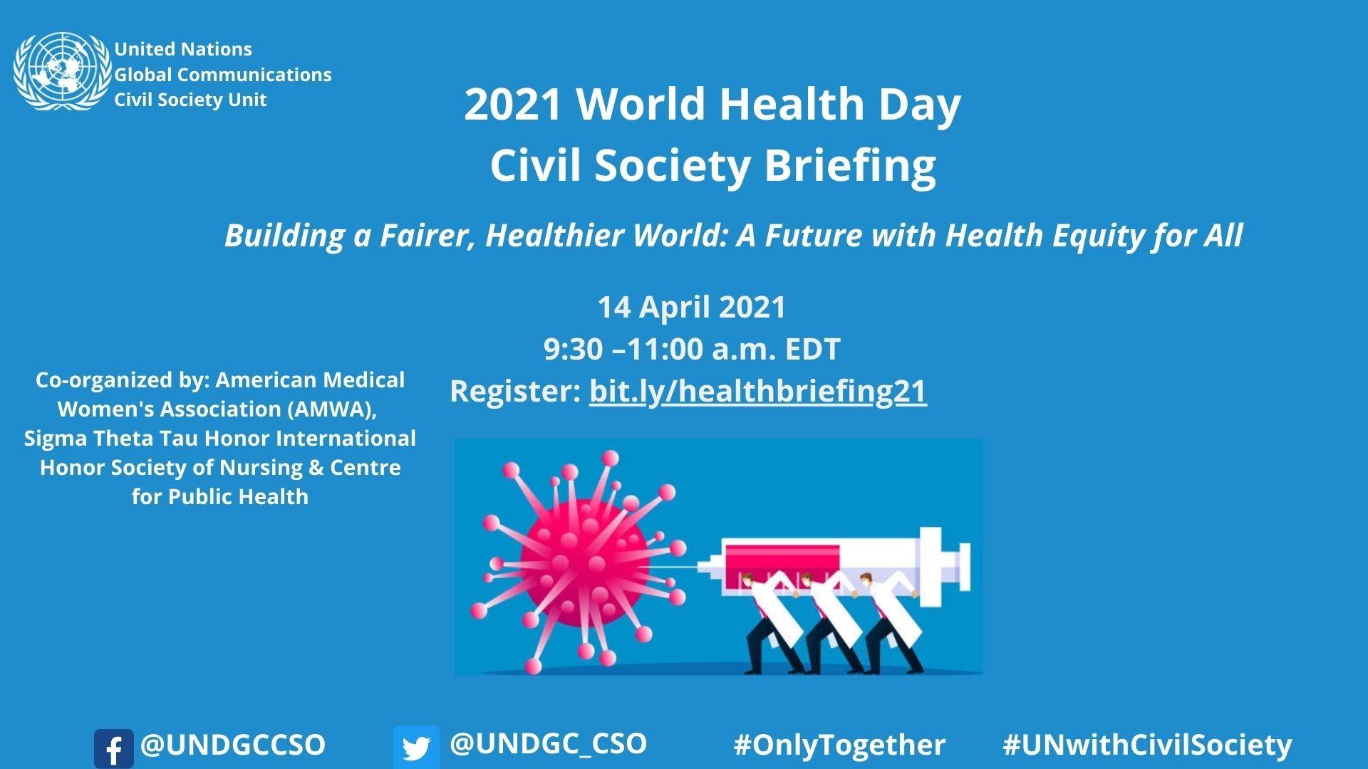 UN World Health Briefing