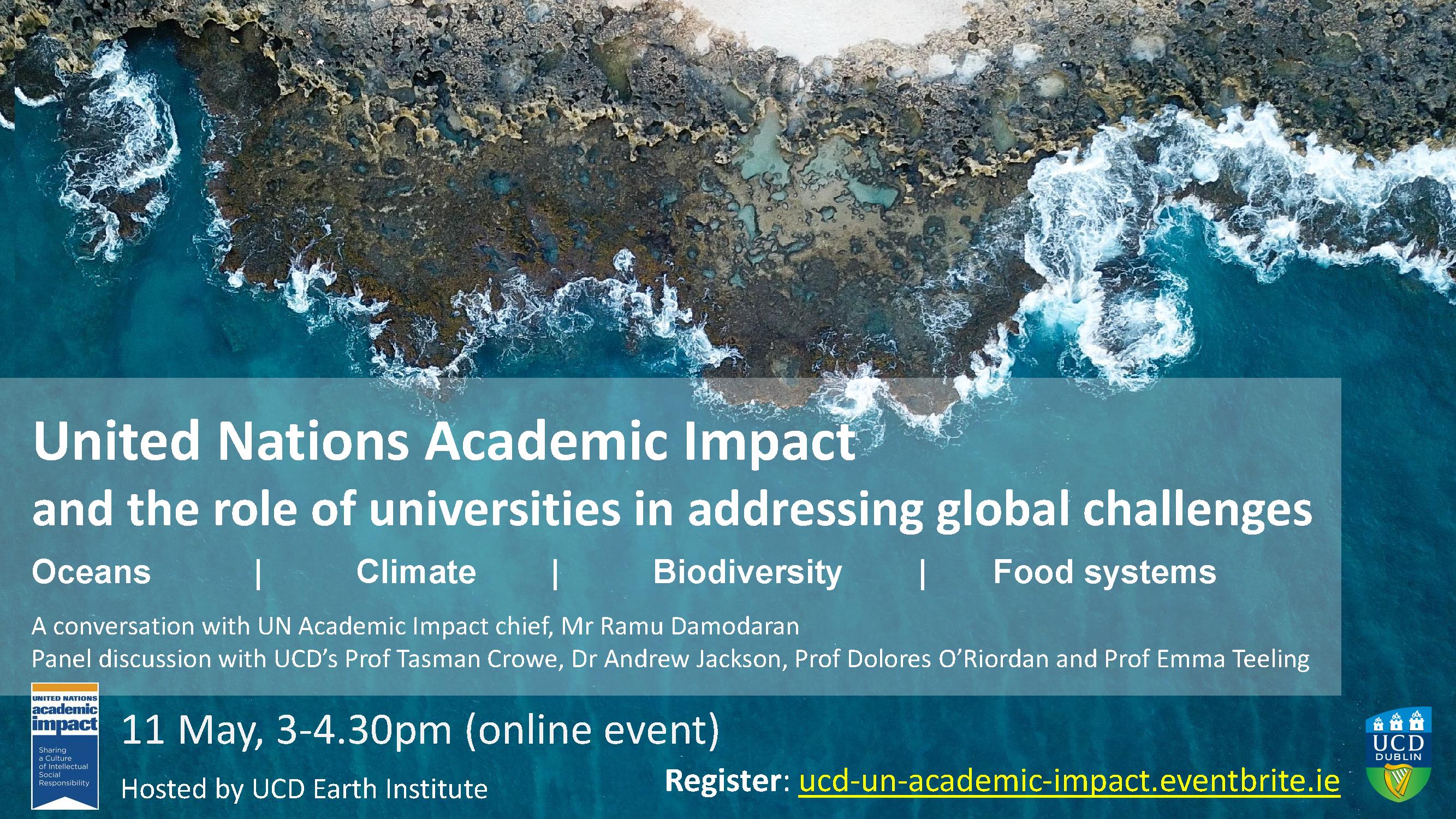 UNAI UCD Event Poster